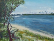 Dan-Scott-Caloundra-Study-Oil-12x16-Inches-2017