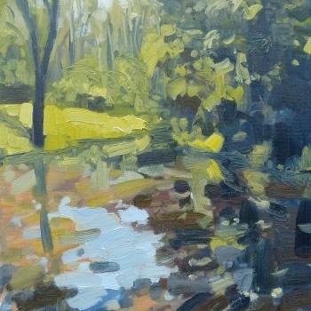 Dan-Scott-Impressionist-River-Oil-16x12-Inches-2016