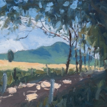 Dan-Scott-Mt-Barney-Study-Oil-10x12-Inches-Oct-2018