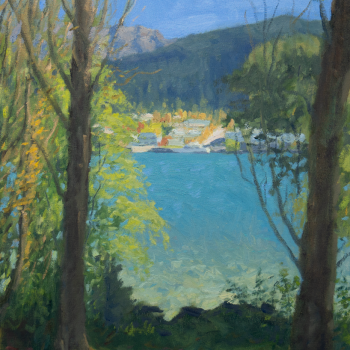 Dan-Scott-Queenstown-High-Contrast-16x12-Inches-Oil-2019-Full-Sized