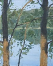 Dan-Scott-Secrets-on-the-Lake-Study-On-Location-Oil-8x10-Inch-Full-Sized