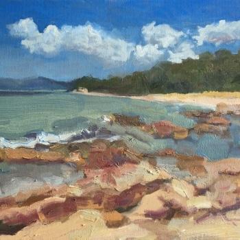 Dan-Scott-Tasmania-Oil-12x16-Inches-2018