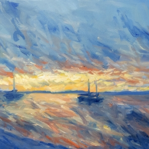 Dan-Scott-Frazer-Island-Oil-12x16-Inches-2016