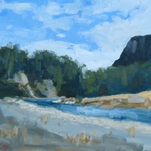 Dan-Scott-New-Zealand-River-Oil-20x24-Inches-2017