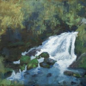 Dan-Scott-New-Zealand-Waterfall-Oil-12x10-Inches-26082019-Large