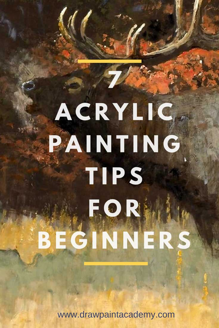 Acrylic Painting Tips For BeginnersWant to learn how to paint? Check out these acrylic painting tips which are perfect for beginners. These acrylic painting tips are simple and actionable so you can apply them to your paintings straight away. These tips may also apply to other mediums such as oil and watercolor painting.https://drawpaintacademy.com/acrylic-painting-tips-beginners/