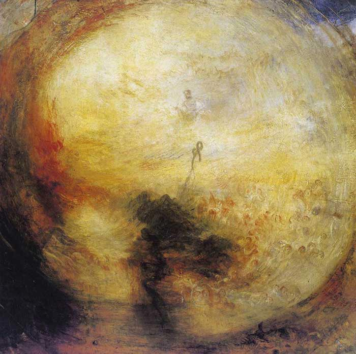 Joseph Mallord WilliamTurner, The Morning After the Deluge, 1843