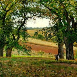 Camille Pissarro, The Chestnut Trees at Osny, 1873