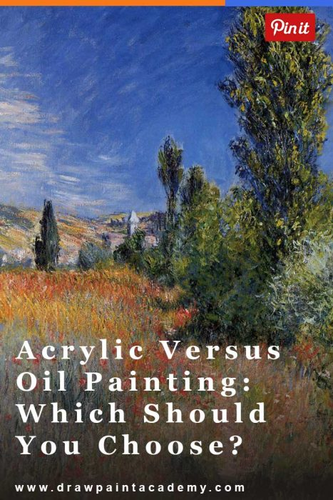 Acrylic versus Oil Painting - Which Is Better For You?