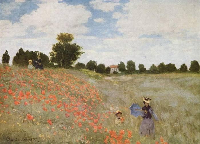 Claude Monet, Coquelicots (La promenade), 1873