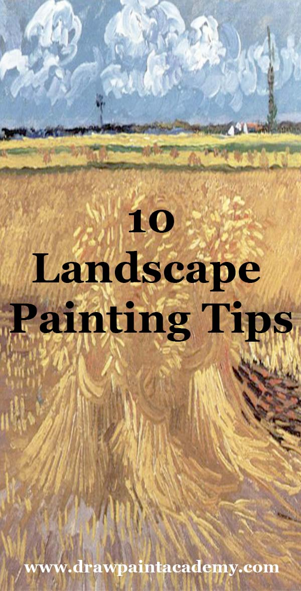 10 Landscape Painting Tips Perfect For Beginners