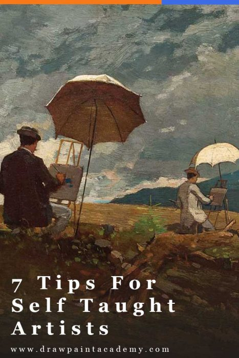 7 Tips For Self Taught Artists