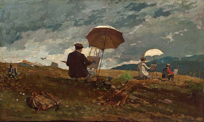 Winslow Homer, Artists Sketching in the White Mountains