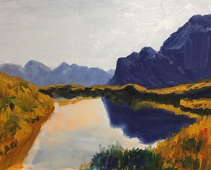Painting Tutorial - Blocking In