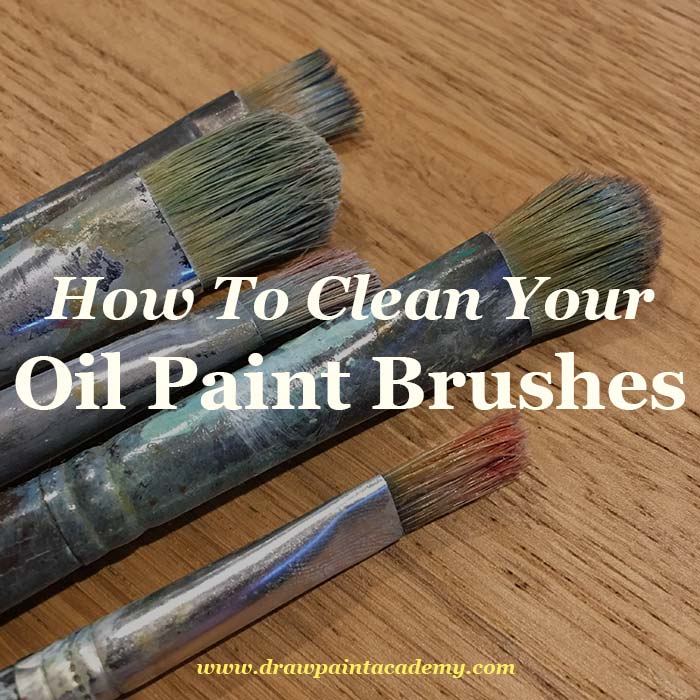 Cleaning Paint Brushes After Ename