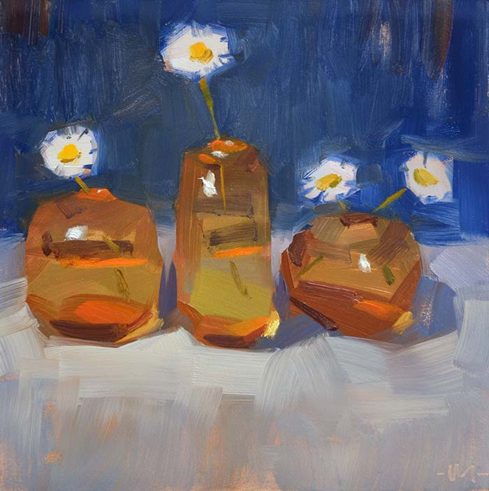Carol Marine, Spring In Glass, 6x6 Inches