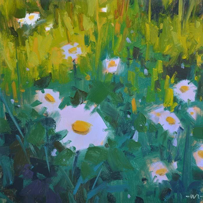 Carol Marine, Spring Study, 6x6 Inches