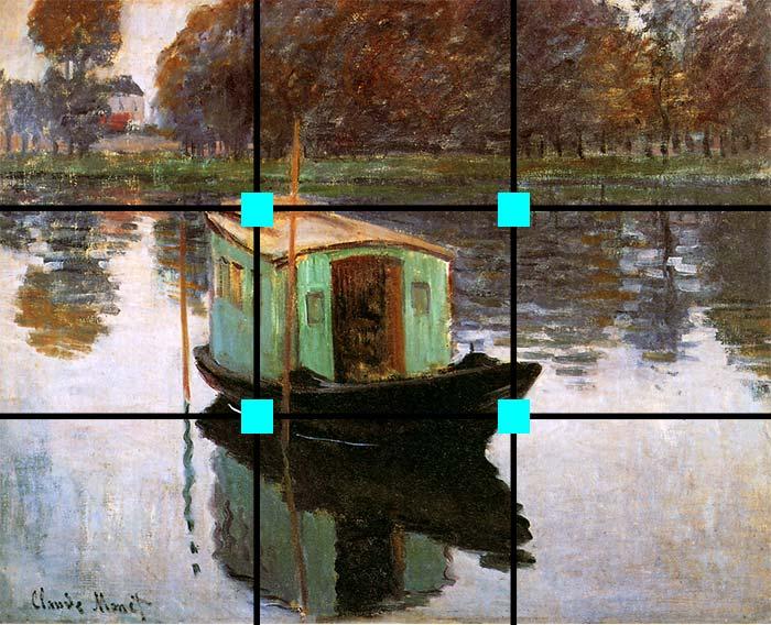 The Studio Boat, Claude Monet, 1874
