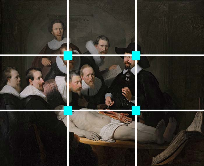 The Anatomy Lesson of Dr. Nicolaes Tulp, Rembrandt, 1632