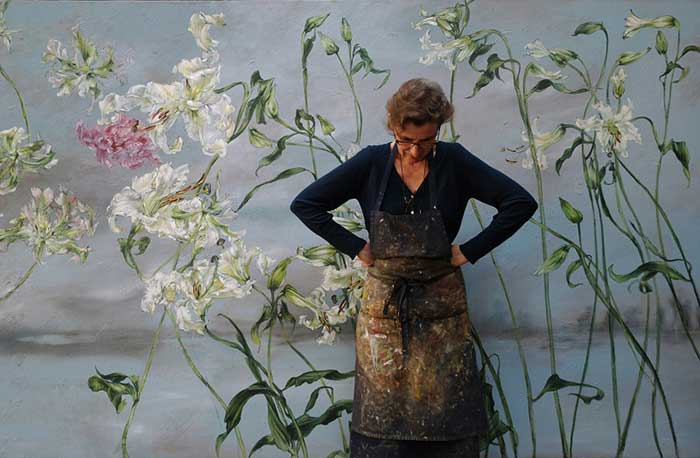 Beautiful Flower Artworks By Claire Basler