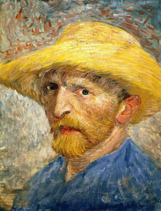 12. Vincent van Gogh, Self Portrait, 1887