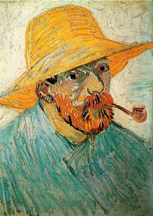 33. Vincent van Gogh, Self Portrait, 1888