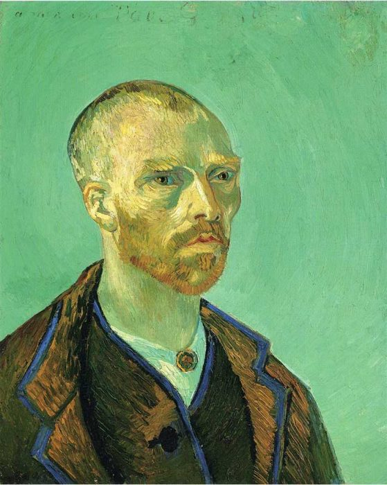34. Vincent van Gogh, Self Portrait Dedicated To Paul Gauguin, 1888