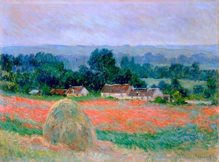 Claude Monet, Haystack At Giverny, 1886
