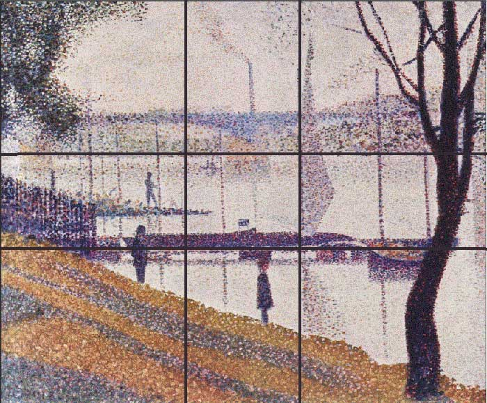 Georges Seurat, Bridge at Courbevoie, 1887