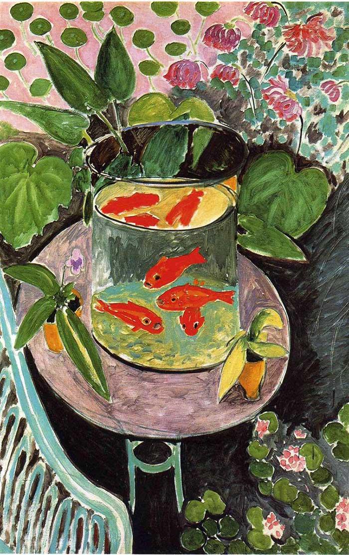 Henri Matisse, Goldfish, 1911