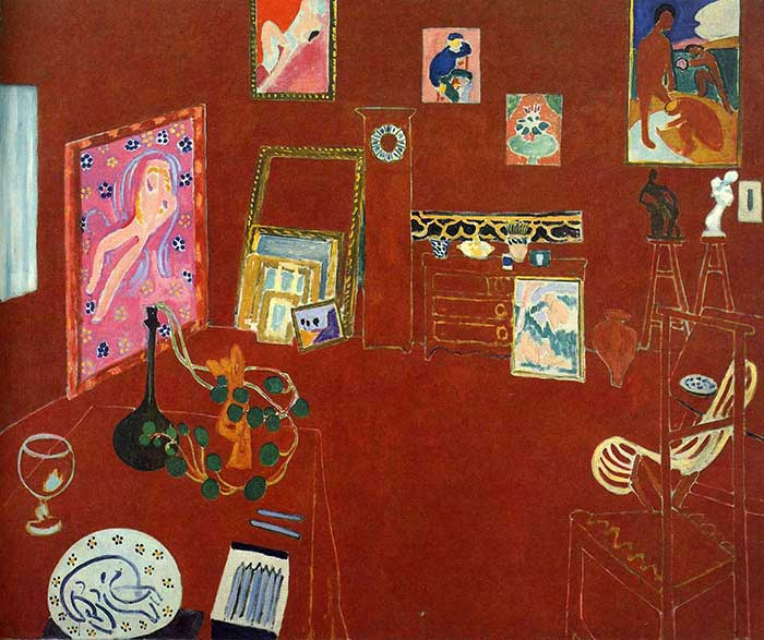 Henri Matisse, Red Studio, 1911