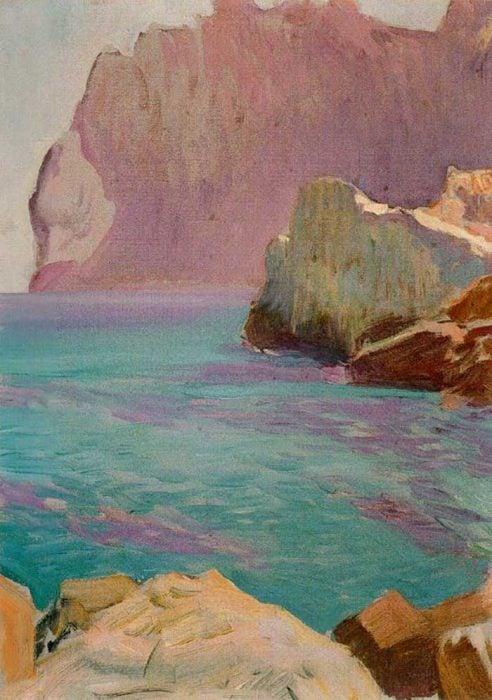 Joaquin Sorolla, San Vicente Cape, Date Unknown