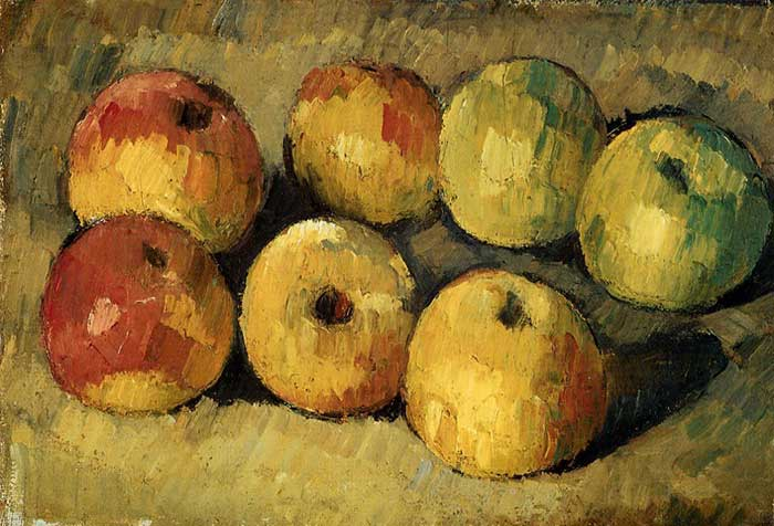 Paul Cezanne, Apples, 1878