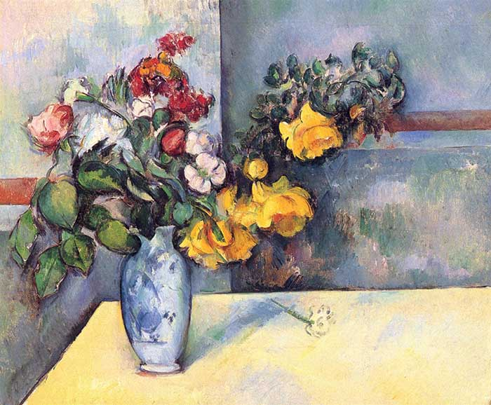 Paul Cézanne, Still Life Flowers in a Vase, 1888