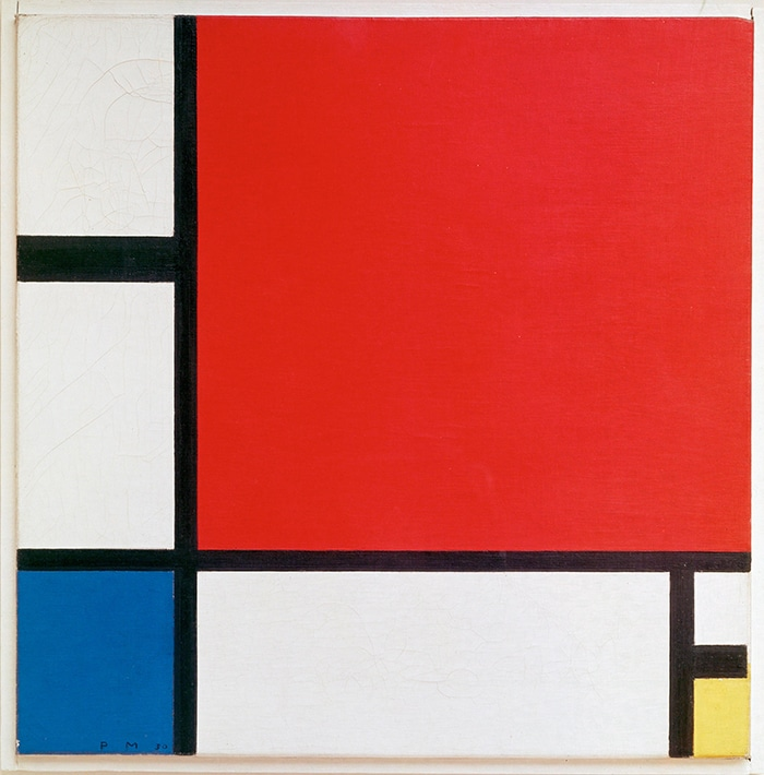 Piet Mondrian, Compositions in Red, Blue, and Yellow, 1930