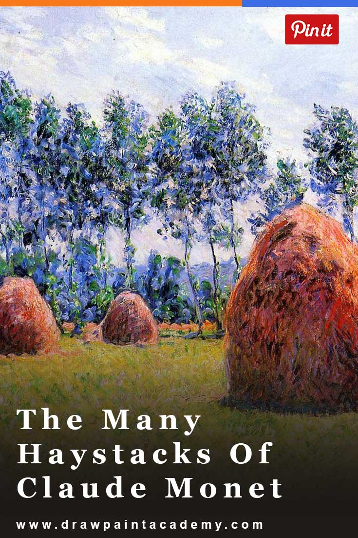 The Many Haystacks Of Claude Monet. Watch how Claude Monet painted haystacks in many different environments to demonstrate how color and light work.