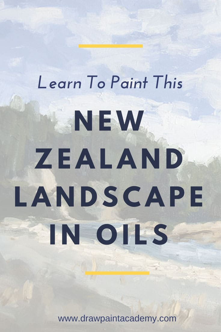FREE Landscape Painting Tutorial.Check out how to paint this beautiful New Zealand landscape scene, with the river running through the trees on a sunny day. The tutorial is conducted in oils but even acrylic and watercolor artists may be interested.drawpaintacademy.com/how-to-paint-a-river
