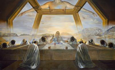 Salvador Dali, The Sacrament of the Last Supper, 1955