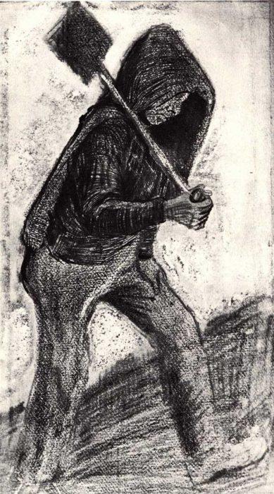 Vincent van Gogh, Coal Shoveler, 1879