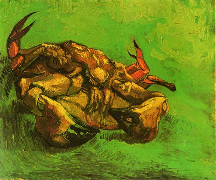 Vincent van Gogh, Crab On It's Back, 1889