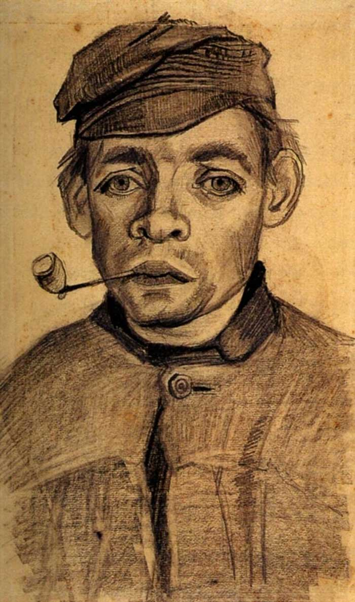 25 Inspirational Sketches By Vincent Van Gogh Draw Paint