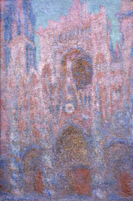17. Claude Monet, Rouen Cathedral, Symphony In Grey And Rose, 1894