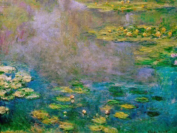 19. Claude Monet, Water Lilies (2), 1906