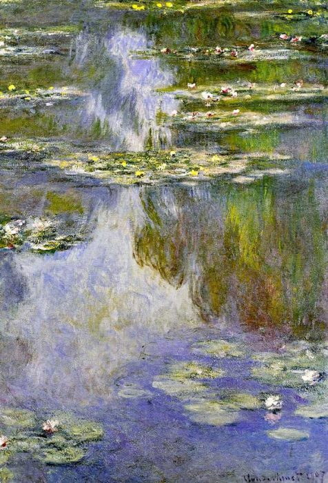 25. Claude Monet, Water Lilies (3), 1907