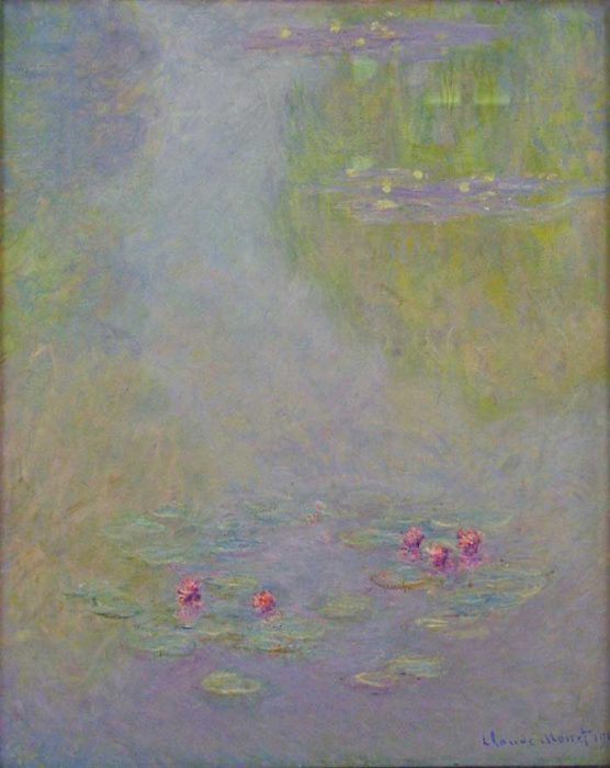 30. Claude Monet, Water Lilies (3), 1908