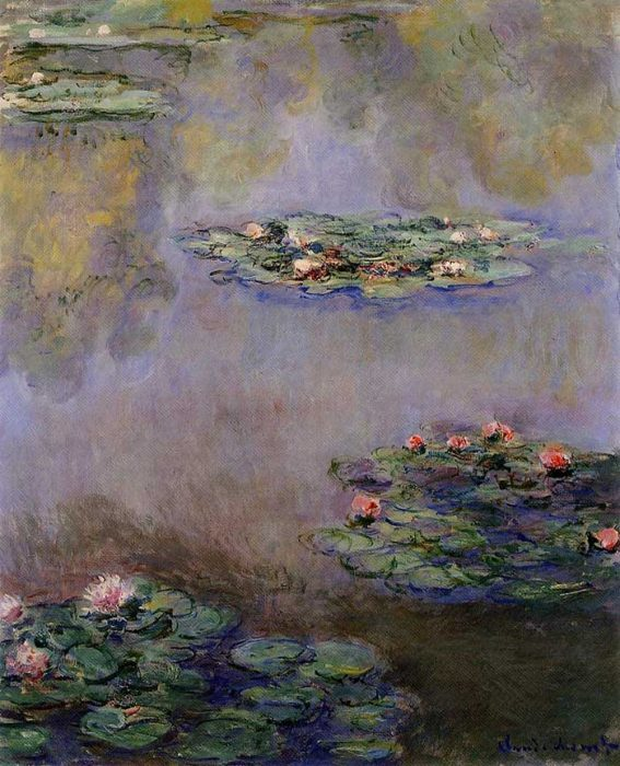 31. Claude Monet, Water Lilies (4), 1908
