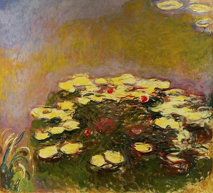 37. Claude Monet, Water Lilies (3), 1914-1917