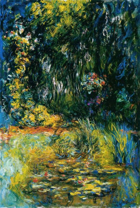 45. Claude Monet, Water Lily Pond, 1918
