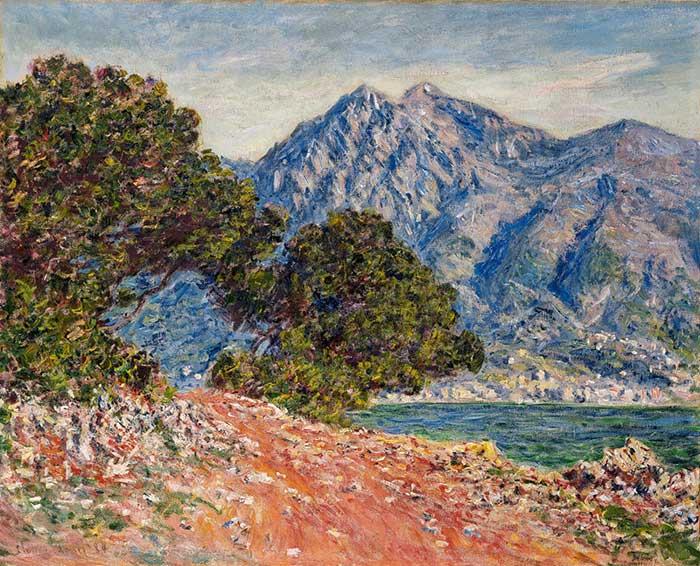 Claude Monet, Cap Martin 2, 1884