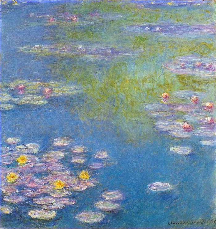 Claude Monet, Water Lilies, 1908